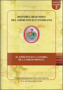 Historia resumida del Ejército Ecuatoriano 2