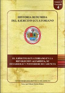 Historia resumida del Ejército Ecuatoriano 4